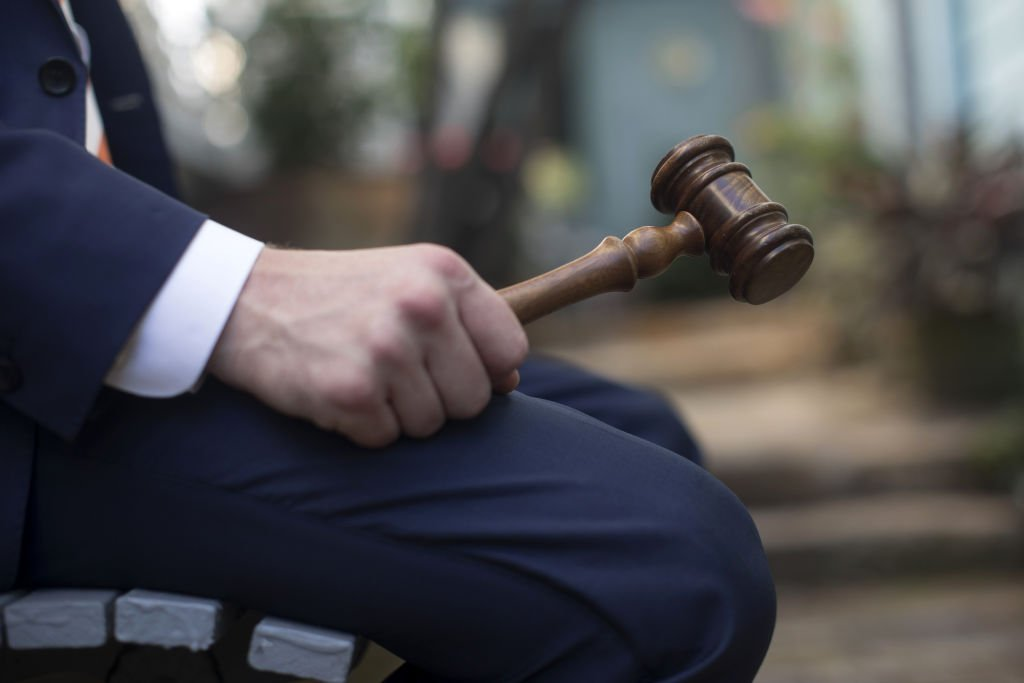 A photo of a gavel for passing judgements | Photo: Getty Images