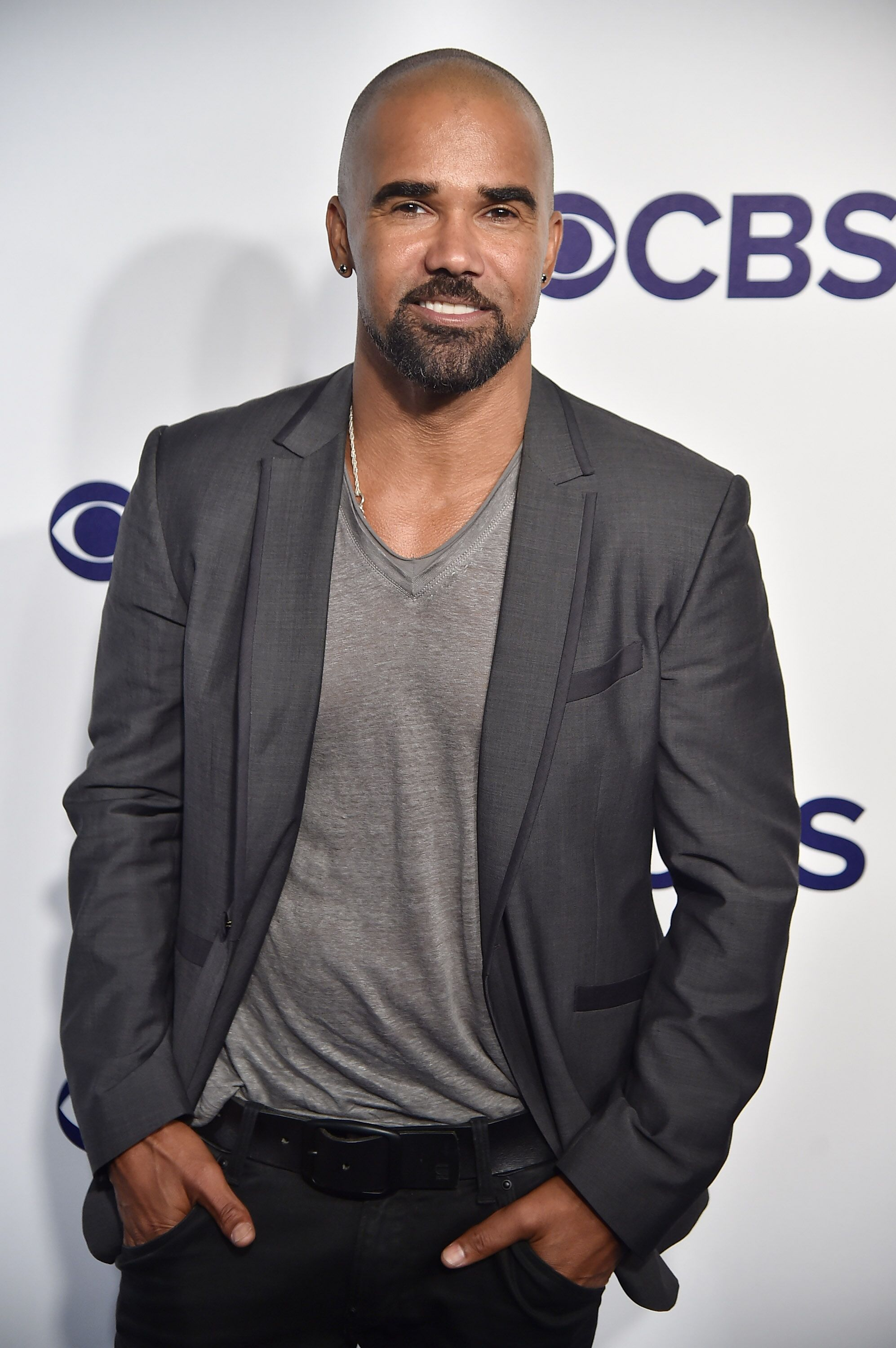Shemar Moore at CBS Upfront 2017 | Getty Images