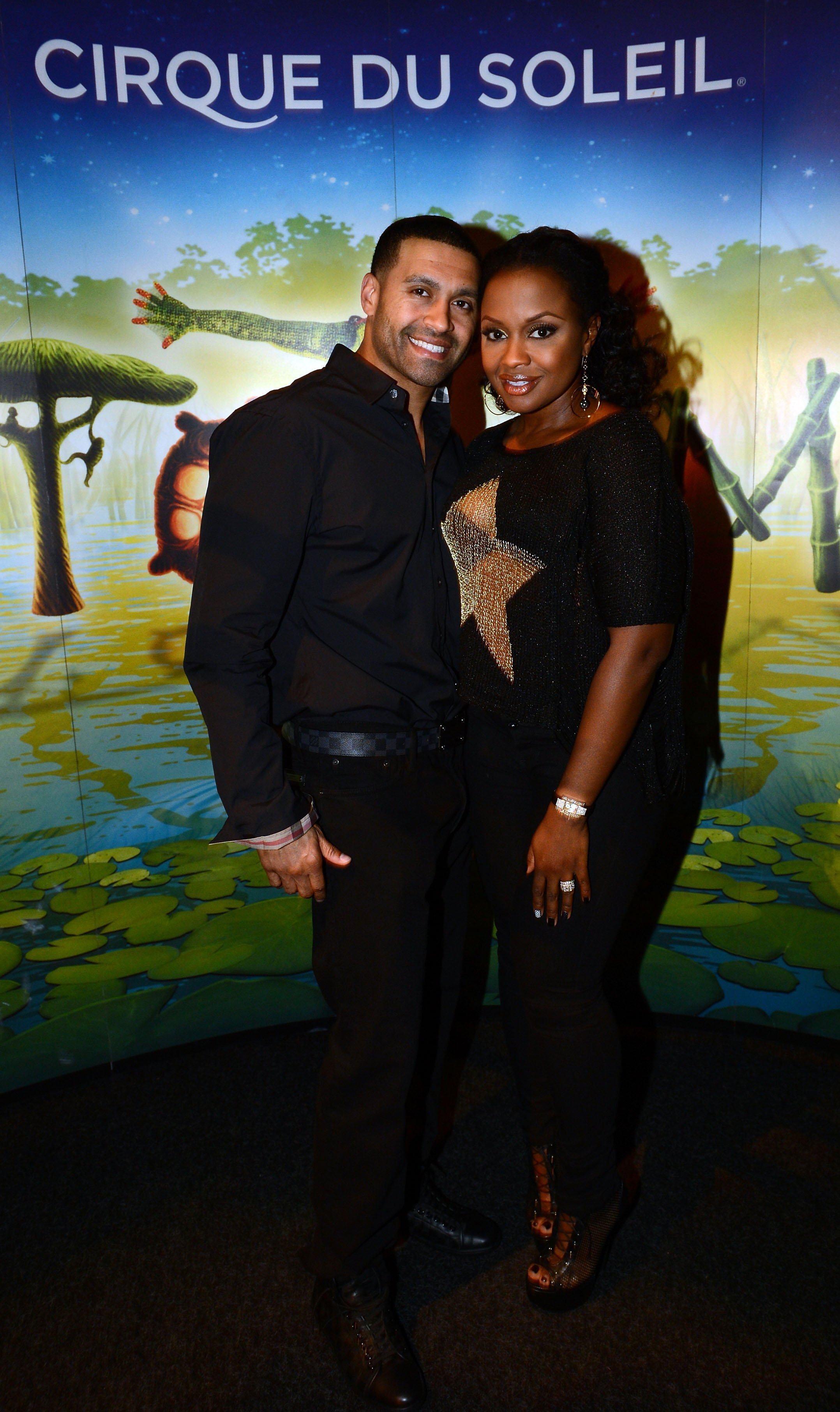 Phaedra Parks and Apollo Nida attend Cirque du Soleil TOTEM Premiere on October 26, 2012 | Photo: GettyImages