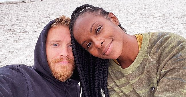 Tika Sumpter's Fiancé Nick James Shares Adorable Pic of Her and Daughter Ella-Loren While Hiking