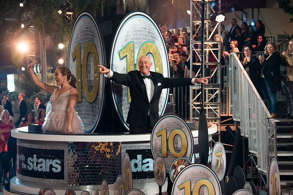 "Len Goodman on set of ""Dancing With The Stars"" 