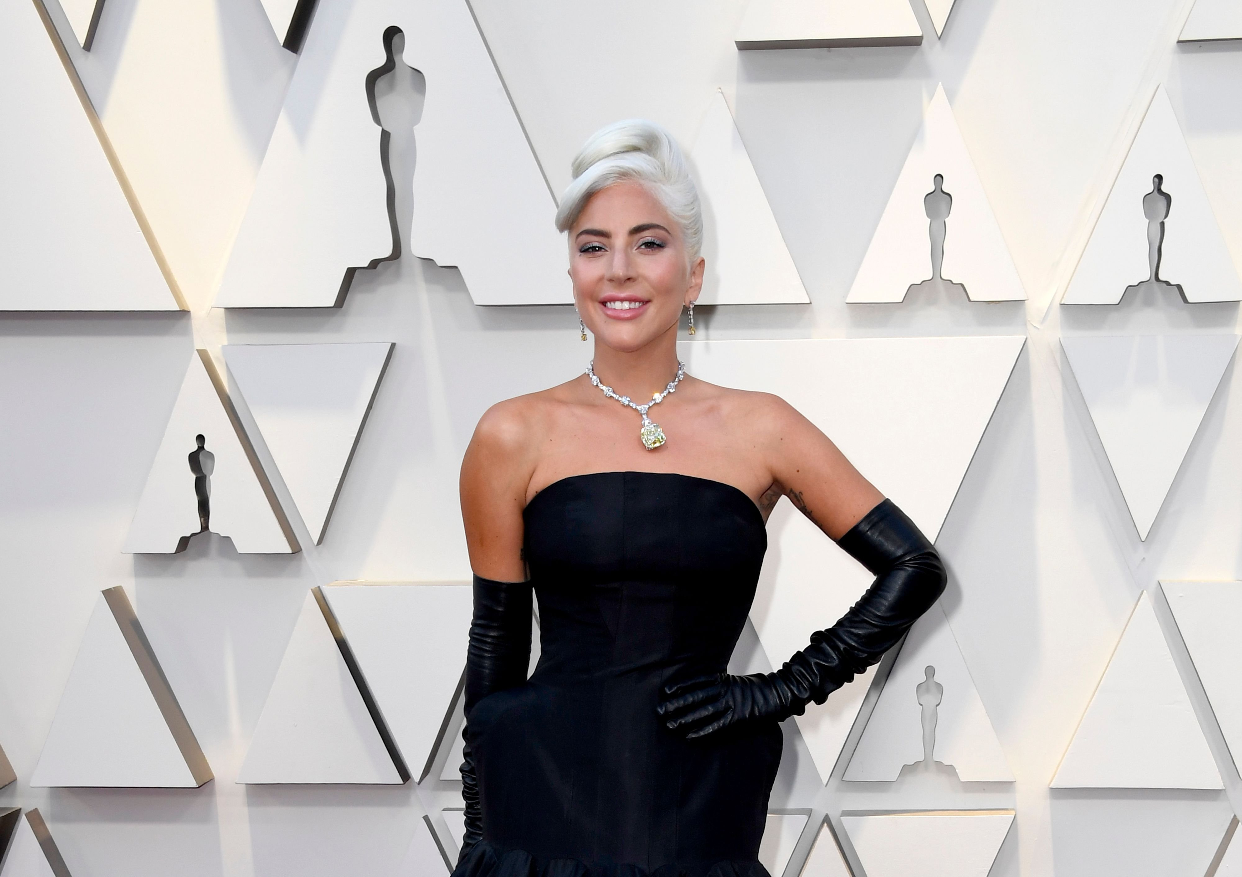 Lady Gaga at the 91st Annual Academy Awards at Hollywood and Highland on February 24, 2019 | Photo: Getty Images