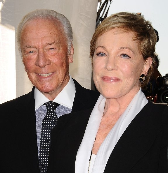 Christopher Plummer and Julie Andrews at TCL Chinese Theatre IMAX on March 26, 2015 in Hollywood, California. | Photo: Getty Images