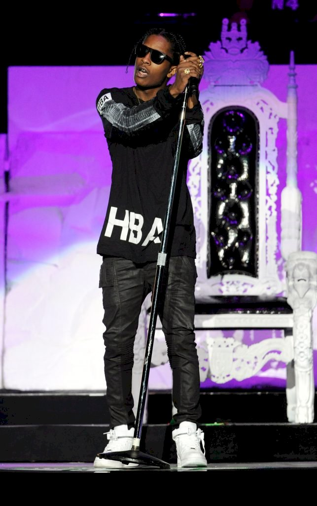 LAS VEGAS, NV - APRIL 12: Recording artist A$AP Rocky performs at the Mandalay Bay Events Center on April 12, 2013 in Las Vegas, Nevada. (Photo by David Becker/Getty Images)