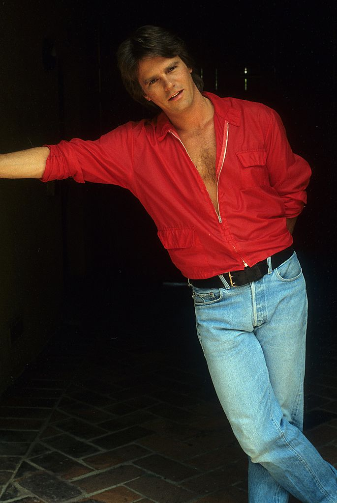 Le comédien Richard Dean Anderson à Los Angeles en 1985. l Source : Getty Images