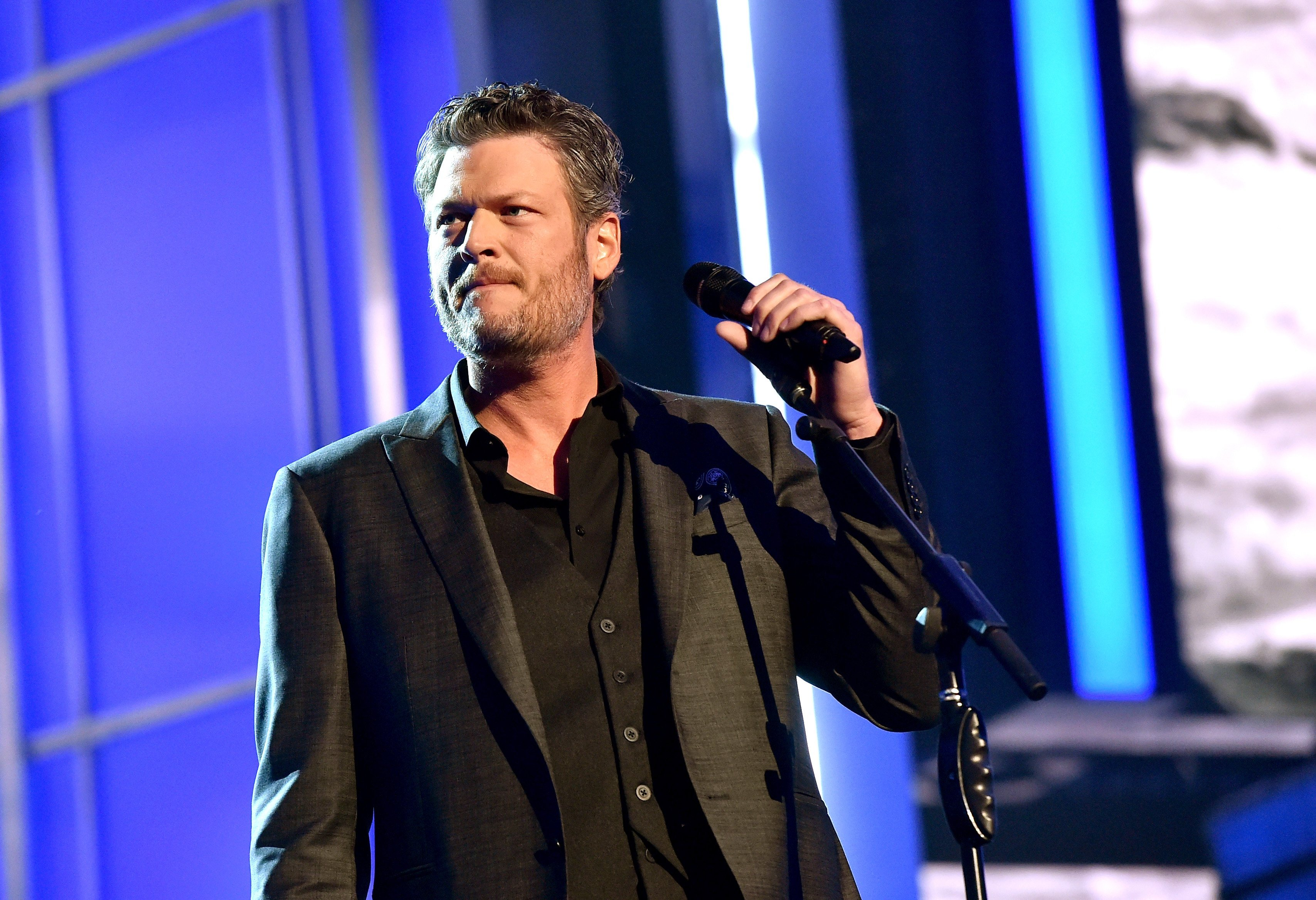 Blake Shelton on April 3, 2016 in Las Vegas, Nevada | Source: Getty Images/Global Images Ukraine