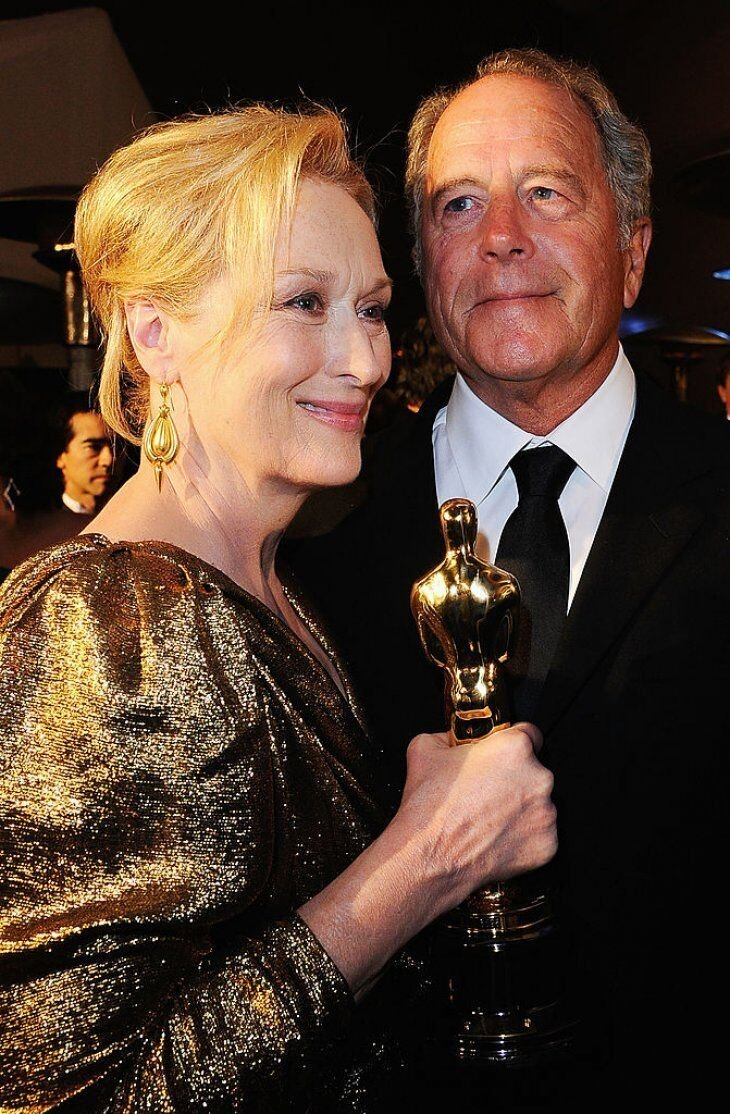 Meryl Streep and Don Gummer attend the 84th Annual Academy Awards Ball. | Source: Getty Images