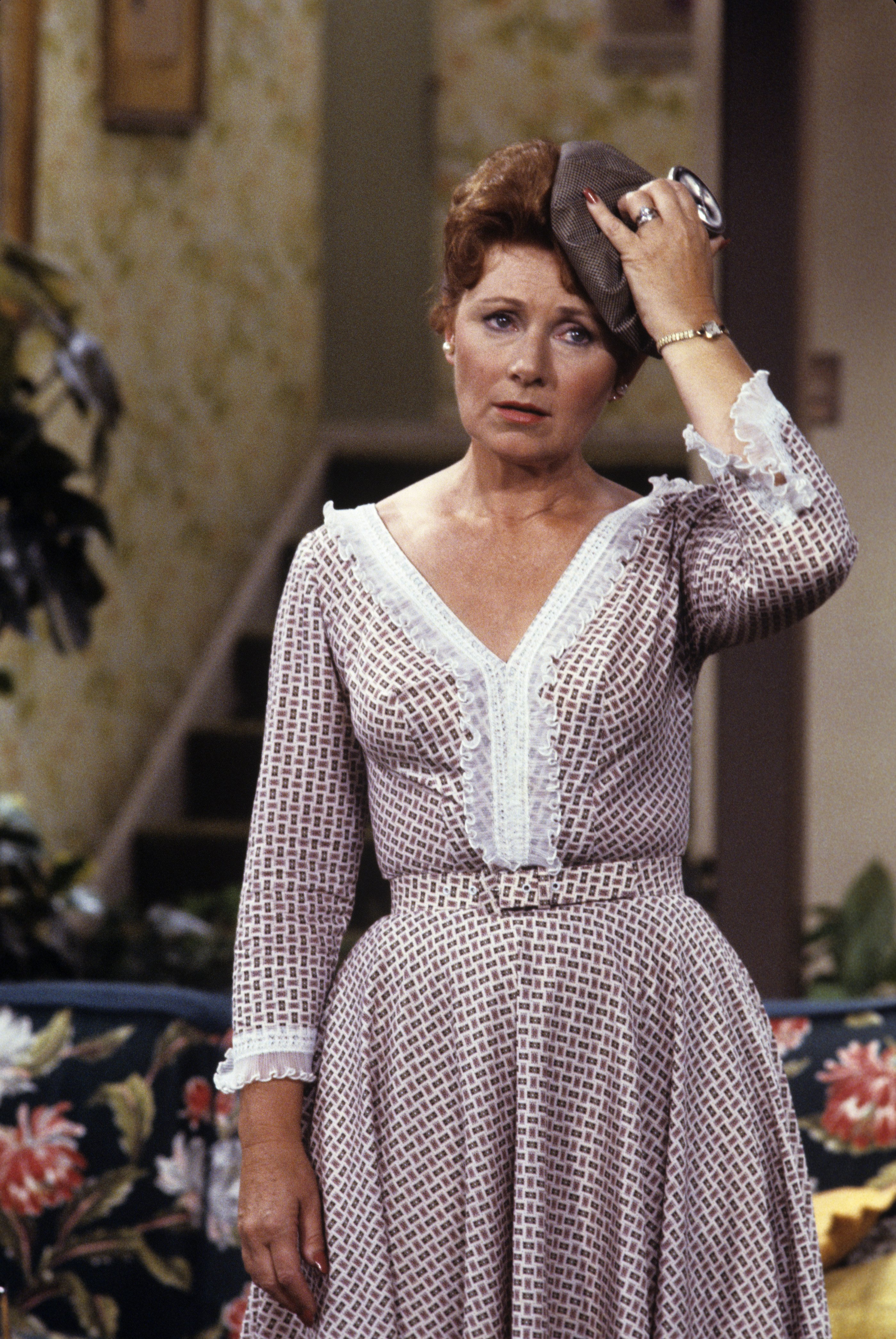 """Marion Ross as Marion Cunningham on """"Happy Days,"""" January 15, 1980. 