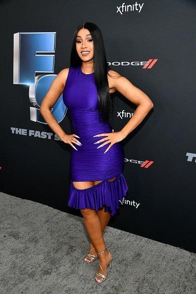 Cardi B at the Universal Pictures Presents The Road To F9 Concert and Trailer Drop on January 31, 2020 in Miami, Florida. | Photo: Getty Images