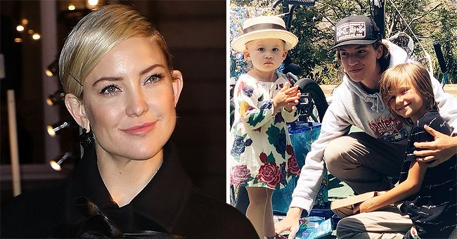 Check Out This Rare Photo of Kate Hudson's Three Kids Ryder, Rani, and Bingham Together