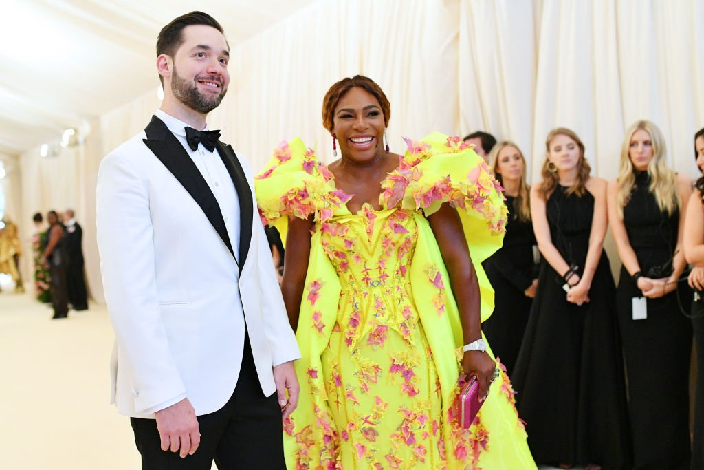 Serena Williams and Alexis Ohanian attend the 2019 Met Gala Celebrating Camp: Notes on Fashion at Metropolitan Museum of Art on May 6, 2019