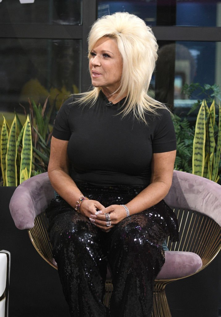 "Host of the TLC reality series ""Long Island Madam"" Theresa Caputo visits ""The X Change Rate"" at Build Studio 