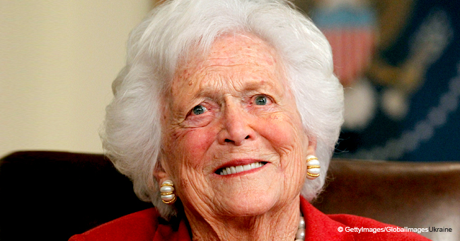 Barbara Bush Blamed Donald Trump for Her Heart Attack, New Tell-All Book Claims