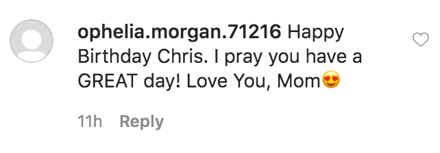 Ophelia Morgan commented on Kim Field's birthday tribute to her husband, Christopher Morgan   Source: Instagram.com/kimfieldsofficial