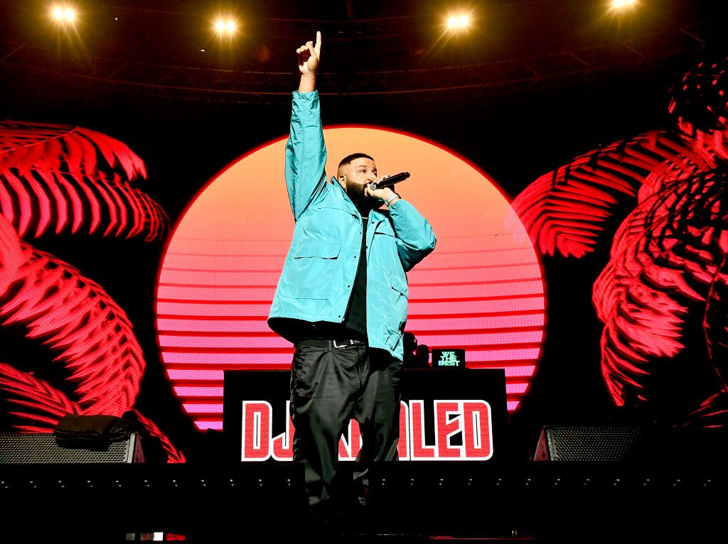 DJ Khaled performed onstage at the EA Sports Bowl on January 30, 2020 in Miami, Florida | Source: Frazer Harrison/Getty Images for EA Sports Bowl at Bud Light Super Bowl Music Fest