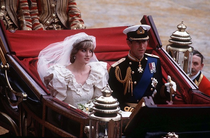 Prince Charles and Princess Diana on July 29, 1981 in London, England   Photo: Getty Images
