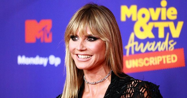 Heidi Klum at the 2021 MTV Movie & TV Awards: Unscripted in Los Angeles, California. | Photo: Getty Images
