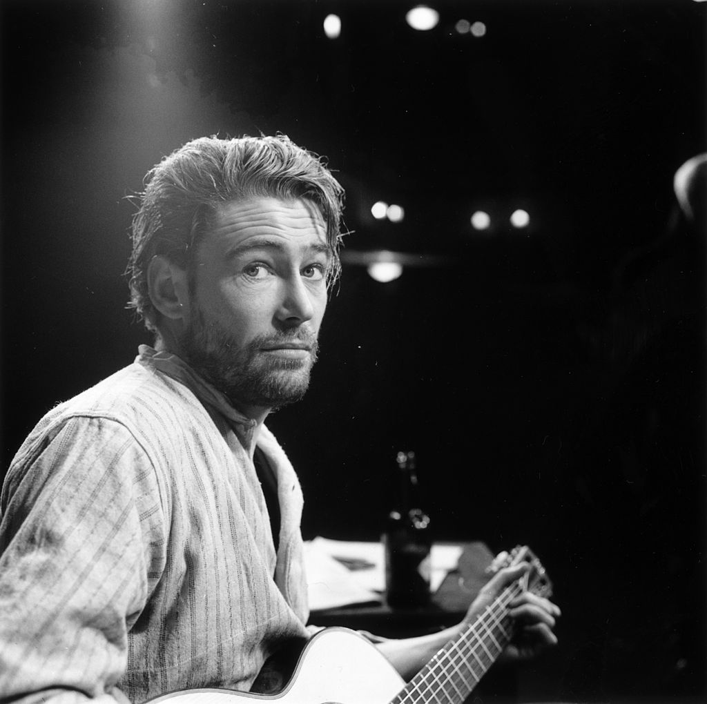 Irish actor of stage and screen, Peter O'Toole, in the play 'Baal'. | Getty Images