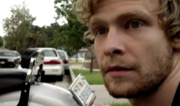 """Johnny Lewis during an episode of """"Sons of Anarchy"""" 