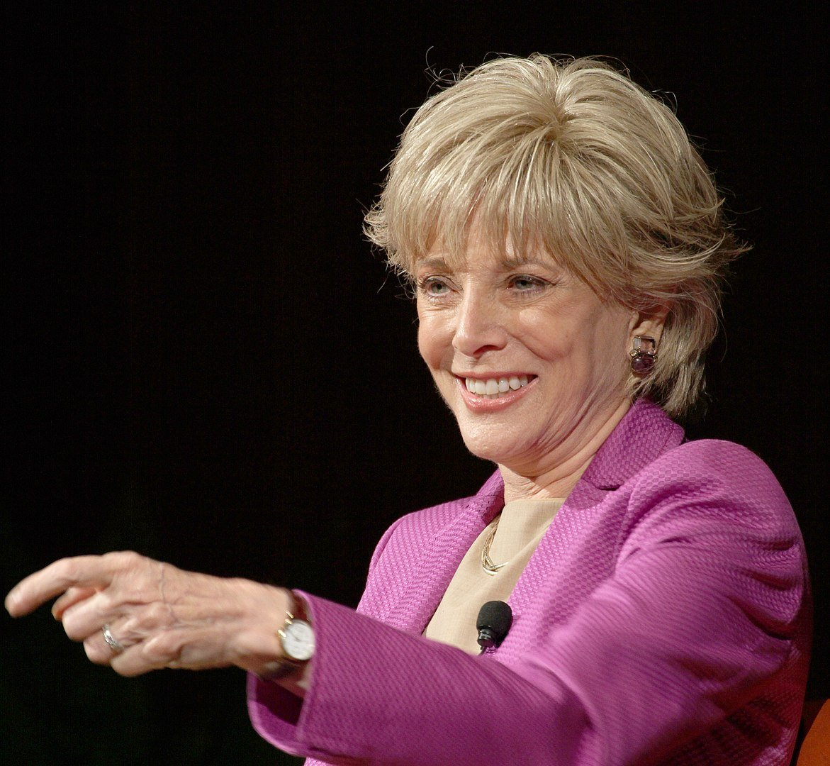 Lesley Stahl in October 2010 at the Lyndon Baines Johnson Library and Museum in Texas | Photo: Getty Images