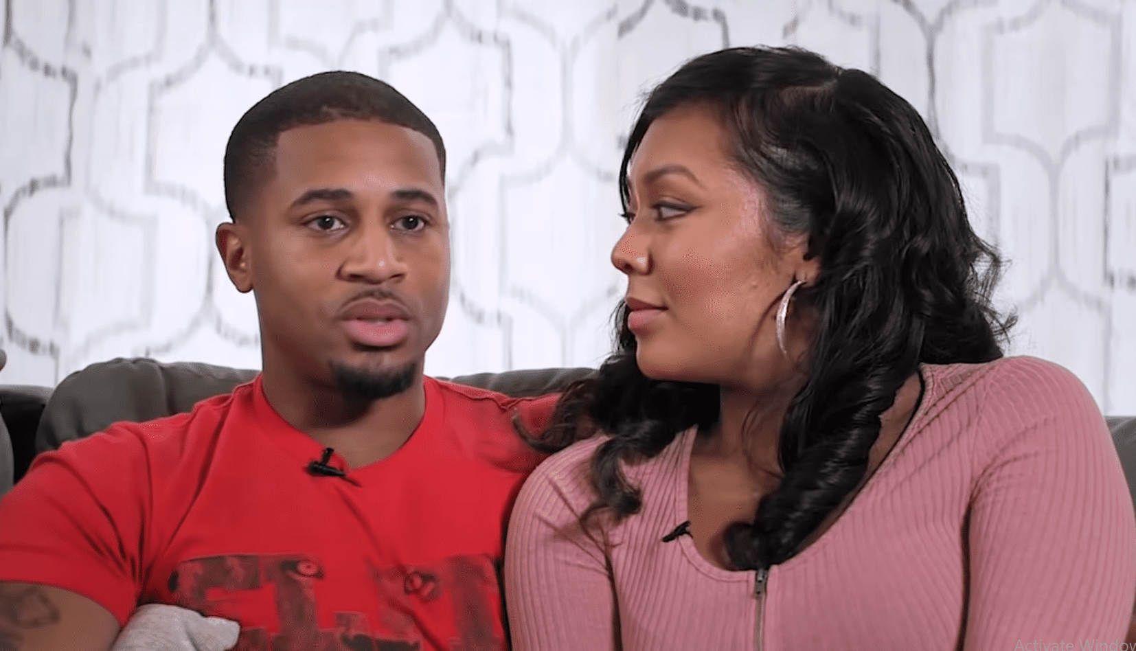 """Devale Ellis gets emotional reflecting on his wife, Khadeen's support during a """"dark time"""" in an interview with """"Black Love."""" 