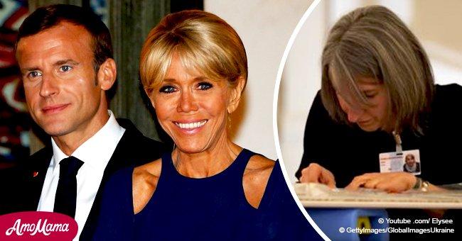 Une ex-candidate de L'amour est dans le pré travaille maintenant pour Emmanuel et Brigitte Macron (vidéo)