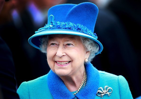 Queen Elizabeth II à Tweedbank Station le 9 septembre 2015 à Tweedbank, Ecosse | Photo : Getty Images