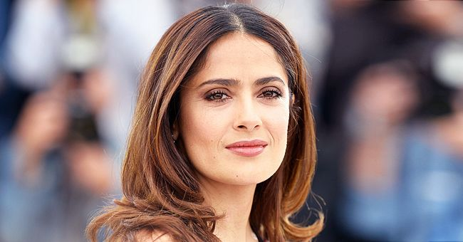 Salma Hayek Asleep with an Owl on Her Head in an Adorable Makeup-Free Selfie
