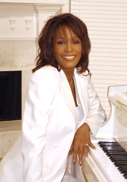 Whitney Houston at her home in suburban Atlanta    Photo: Getty Images