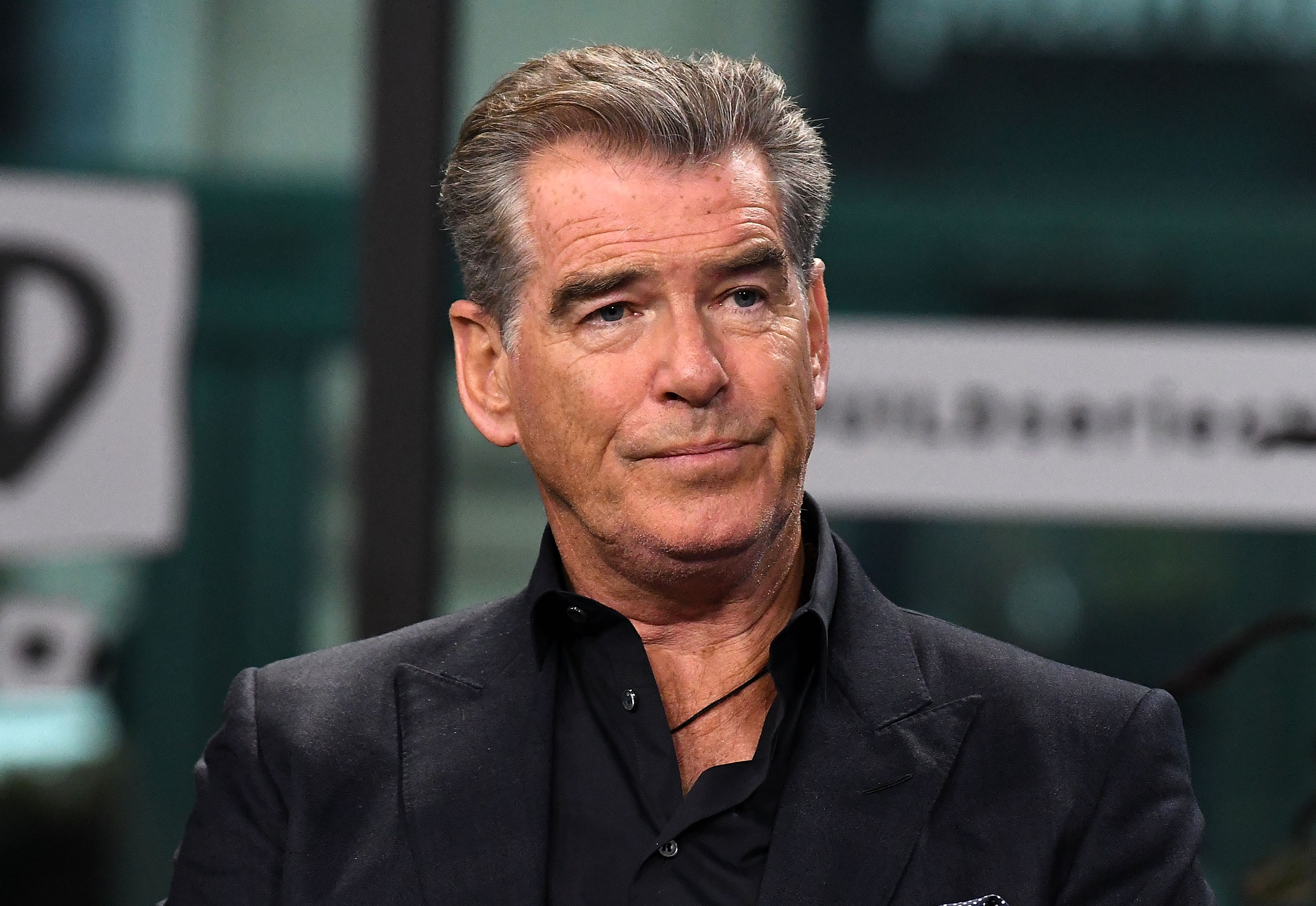 "Pierce Brosnan discusses the new series ""The Son"" at Build Series at Build Studio on April 6, 2017. 