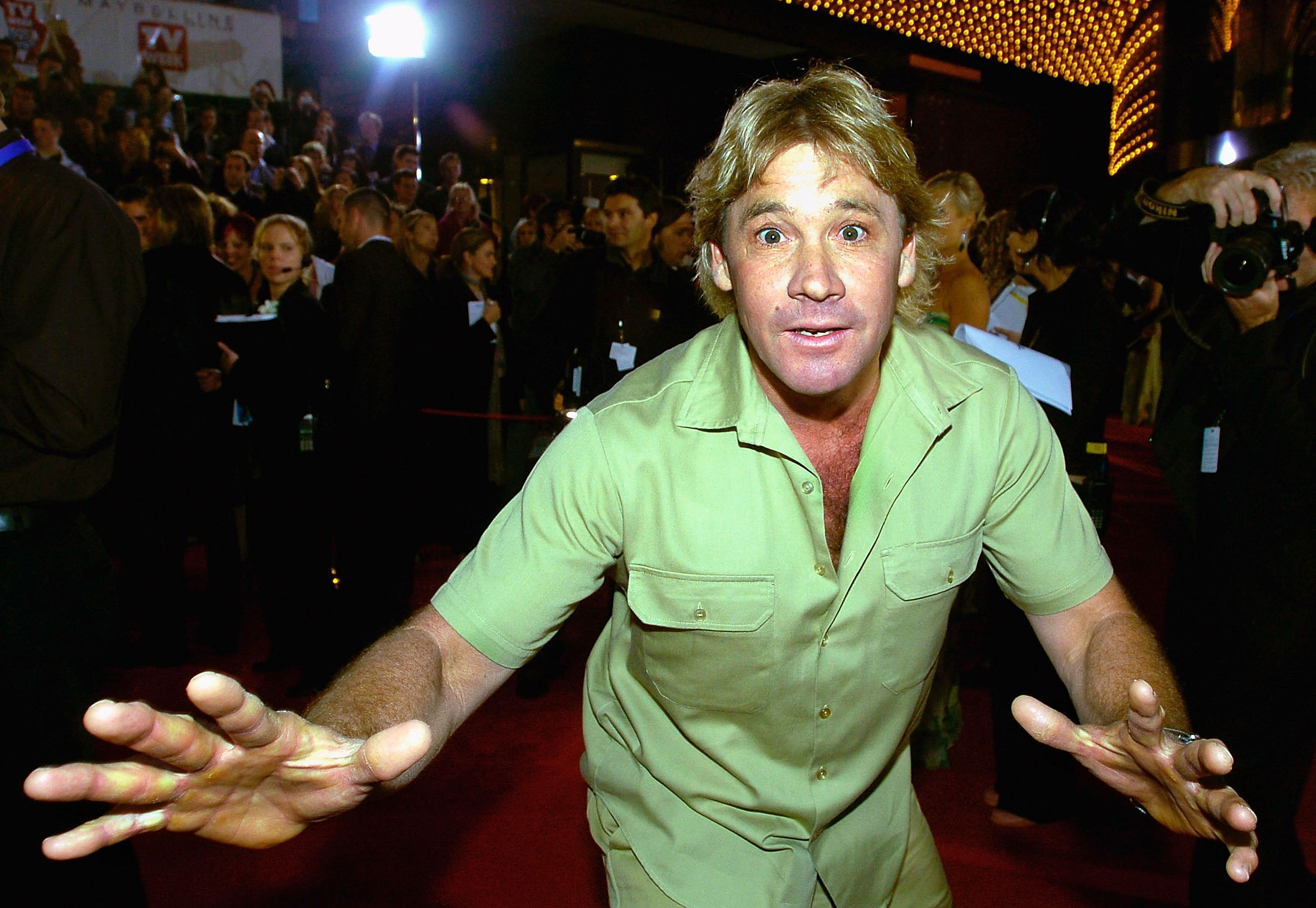 Steve Irwin 'The Crocodile Hunter' attends the 46th Annual TV Week Logie Awards at the Crown Entertainment Complex April 18, 2004 | Photo: GettyImages