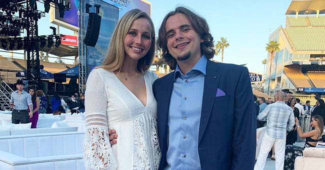 Michael Jackson's Son Prince Attends Dodgers Foundation Blue Diamond Gala with His Girlfriend