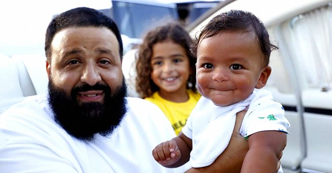 DJ Khaled Picks up His Family after They Arrive on a Private – See the Touching Moment