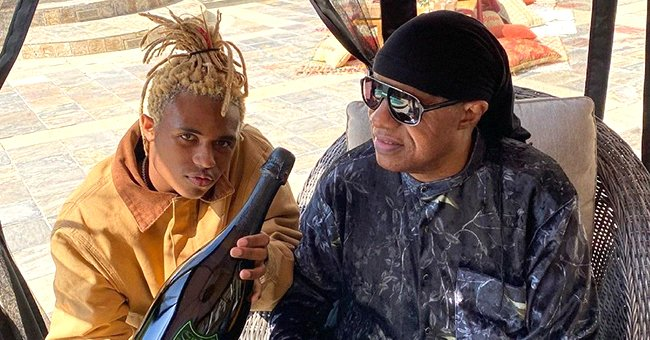 Stevie Wonder's Model Son Kailand Shares Rare Photo with Famous Dad on His Birthday