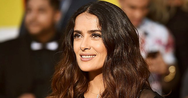 Salma Hayek Shares Rare Photo of Husband François-Henri Pinault on Valentine's Day