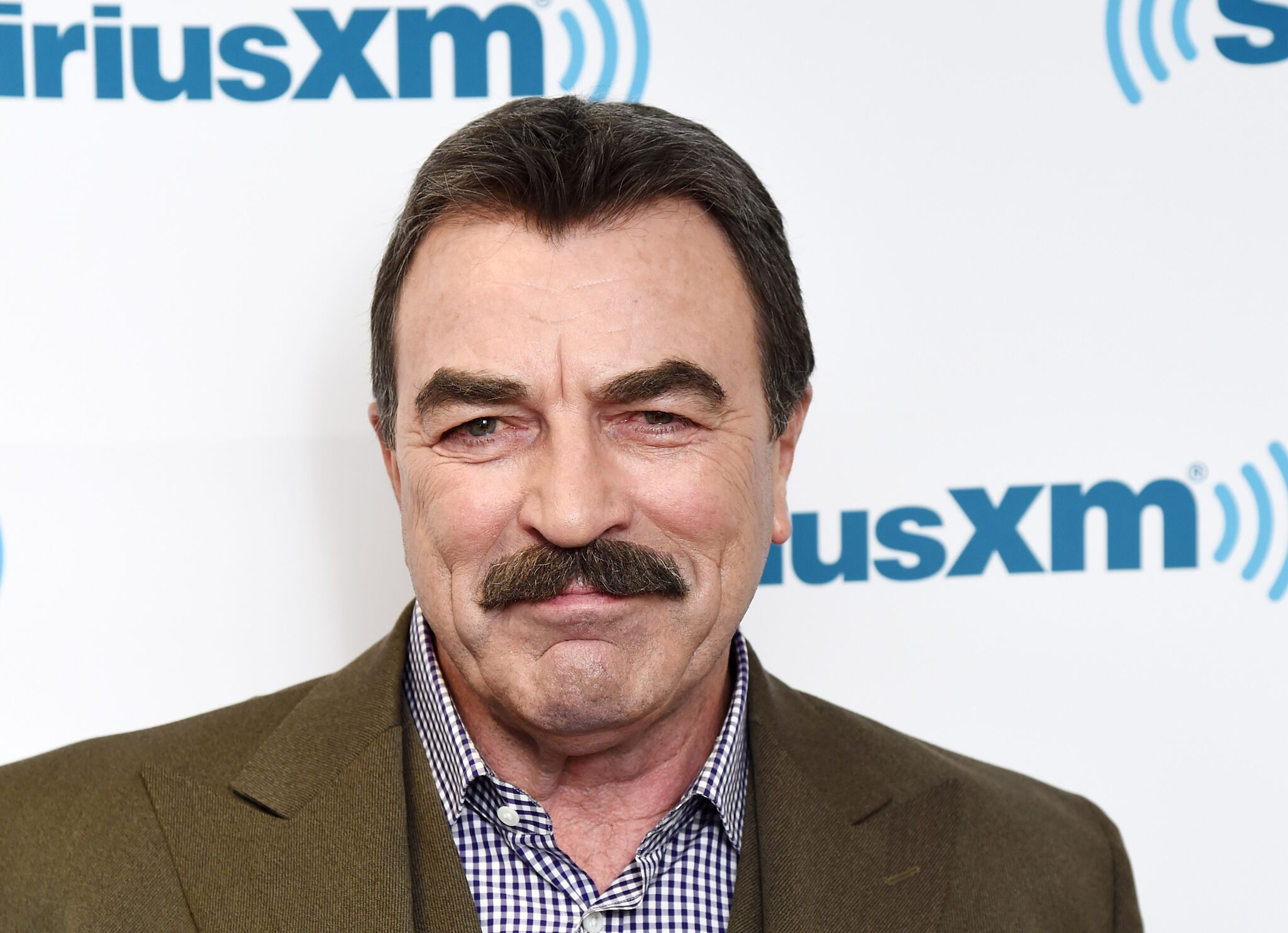 Tom Selleck visits the SiriusXM Studios on October 15, 2015 in New York City | Photo: Getty Images