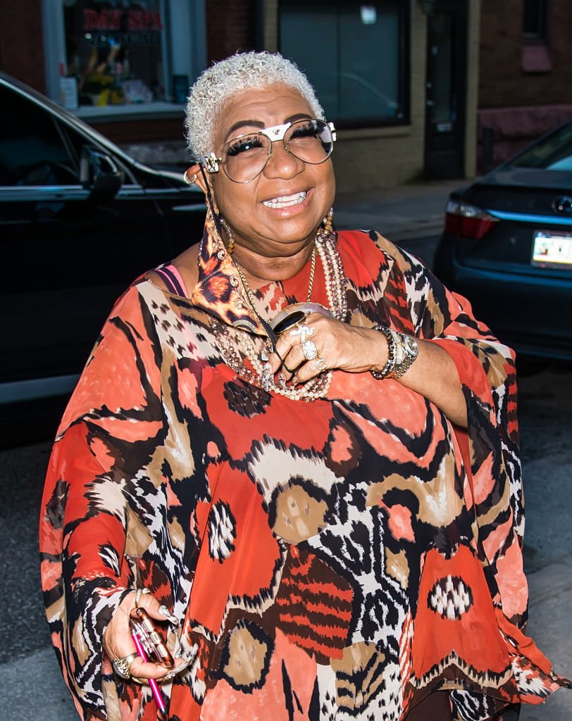 Comedian Luenell is seen arriving to her comedy show in Philadelphia on July 16, 2021   Photo: Getty Images