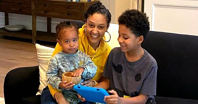 Tia Mowry's Kids and Their Cousins Spend Time Together in a Cute Photo