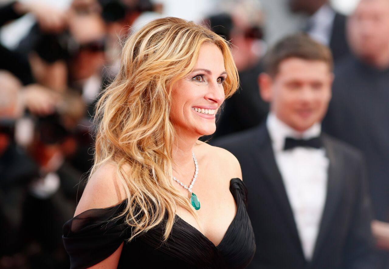 """Julia Roberts attends a screening of """"Money Monster"""" at the annual 69th Cannes Film Festival. 