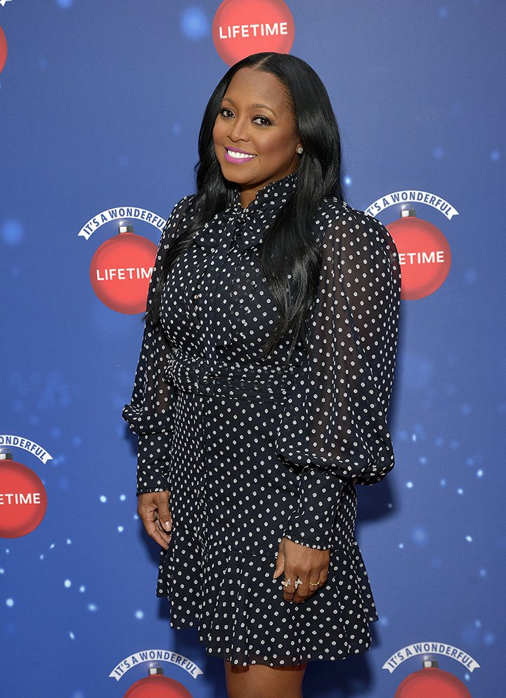 "Keshia Knight Pulliam attends Say ""Santa!"" with It's A Wonderful Lifetime photo experience at Glendale Galleria on November 09, 2019 in Glendale, California. I Image: Getty Images."