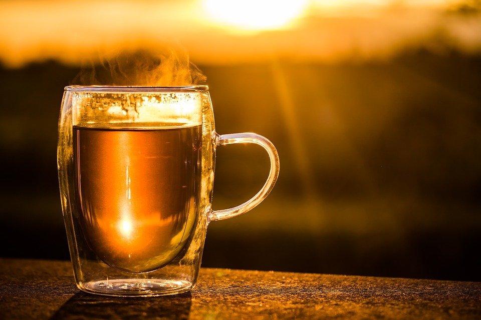 A cup of hot tea. | Source: Pixabay