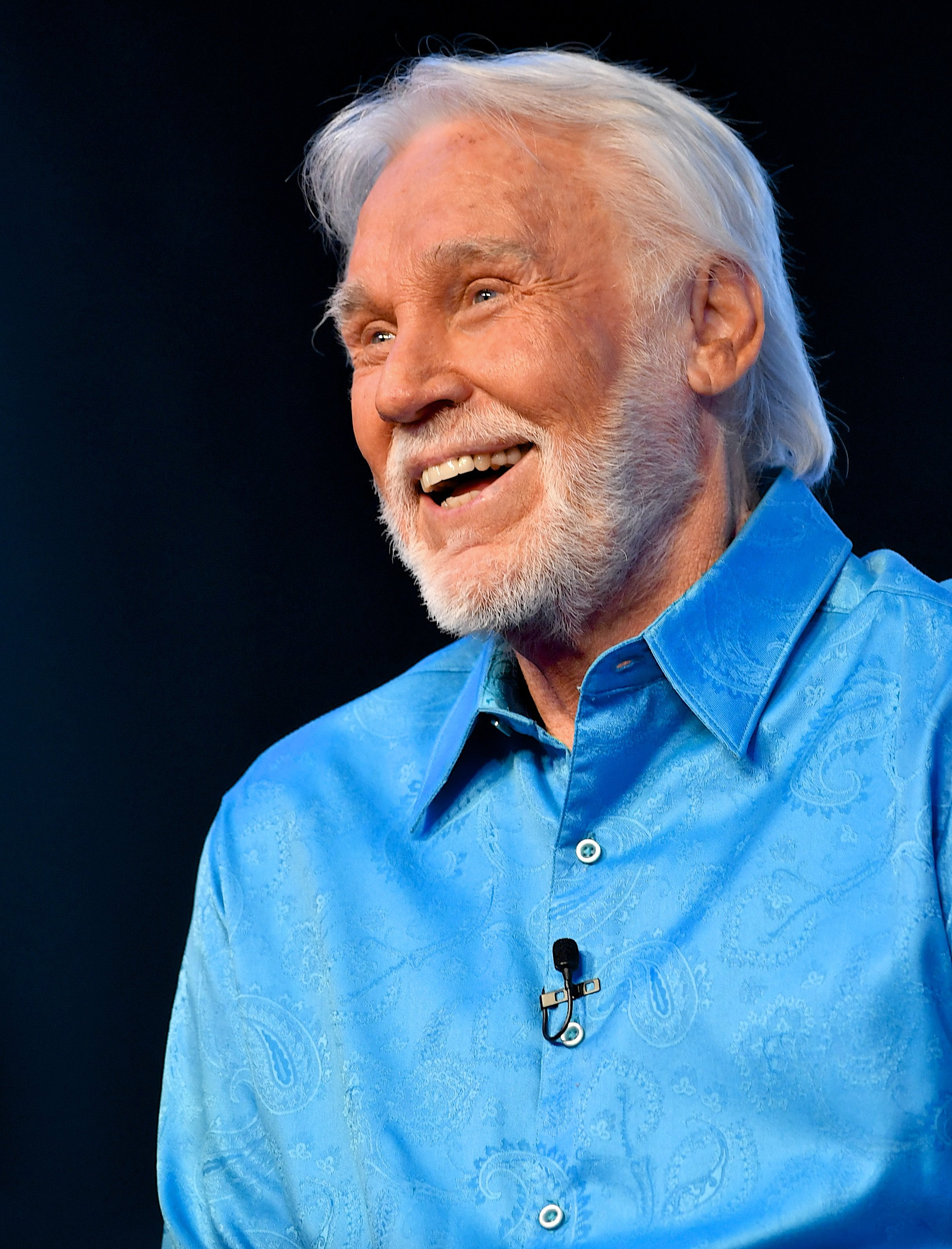 Kenny Rogers at WME on July 18, 2017, in Nashville, Tennessee. | Photo: Getty Images.