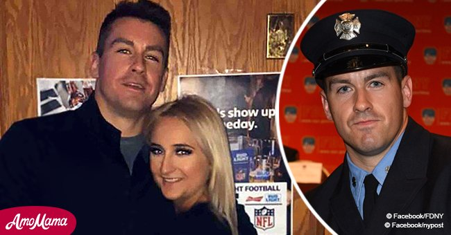 Girlfriend of recently deceased FDNY firefighter writes touching letter to say goodbye
