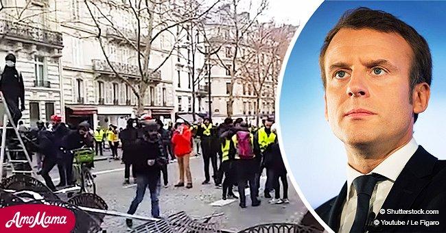 Le sérieux avec lequel l'Élysée s'est préparé à défendre Macron des gilets jaunes le 8 décembre