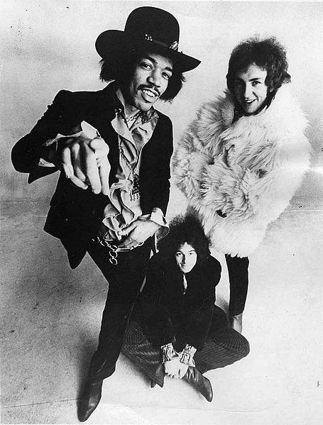 The  Jimi Hendrix Experience in 1968 | Source: Wikimedia Commons/ Warner/Reprise Records/ Public domain