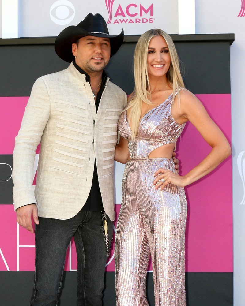 Jason Aldean, Brittany Kerr at the Academy of Country Music Awards 2017 at T-Mobile Arena on April 2, 2017 in Las Vegas, NV |Shutterstock