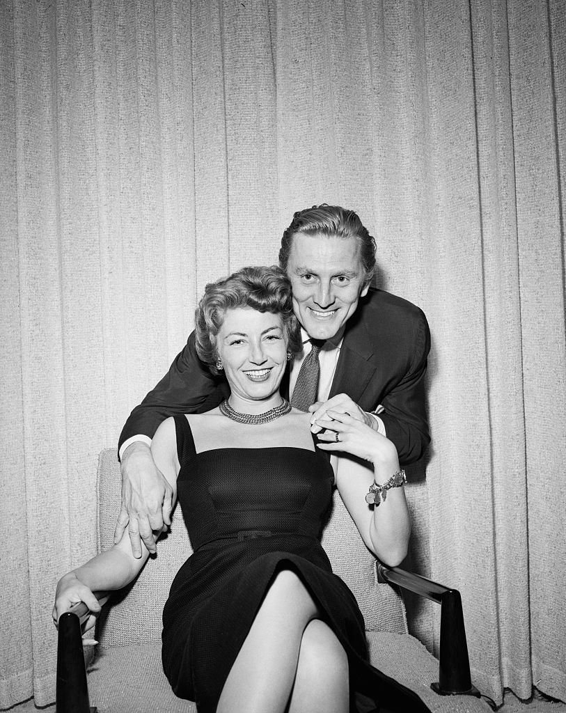 Actor Kirk and film producer Anne Douglas | Photo: Getty Images