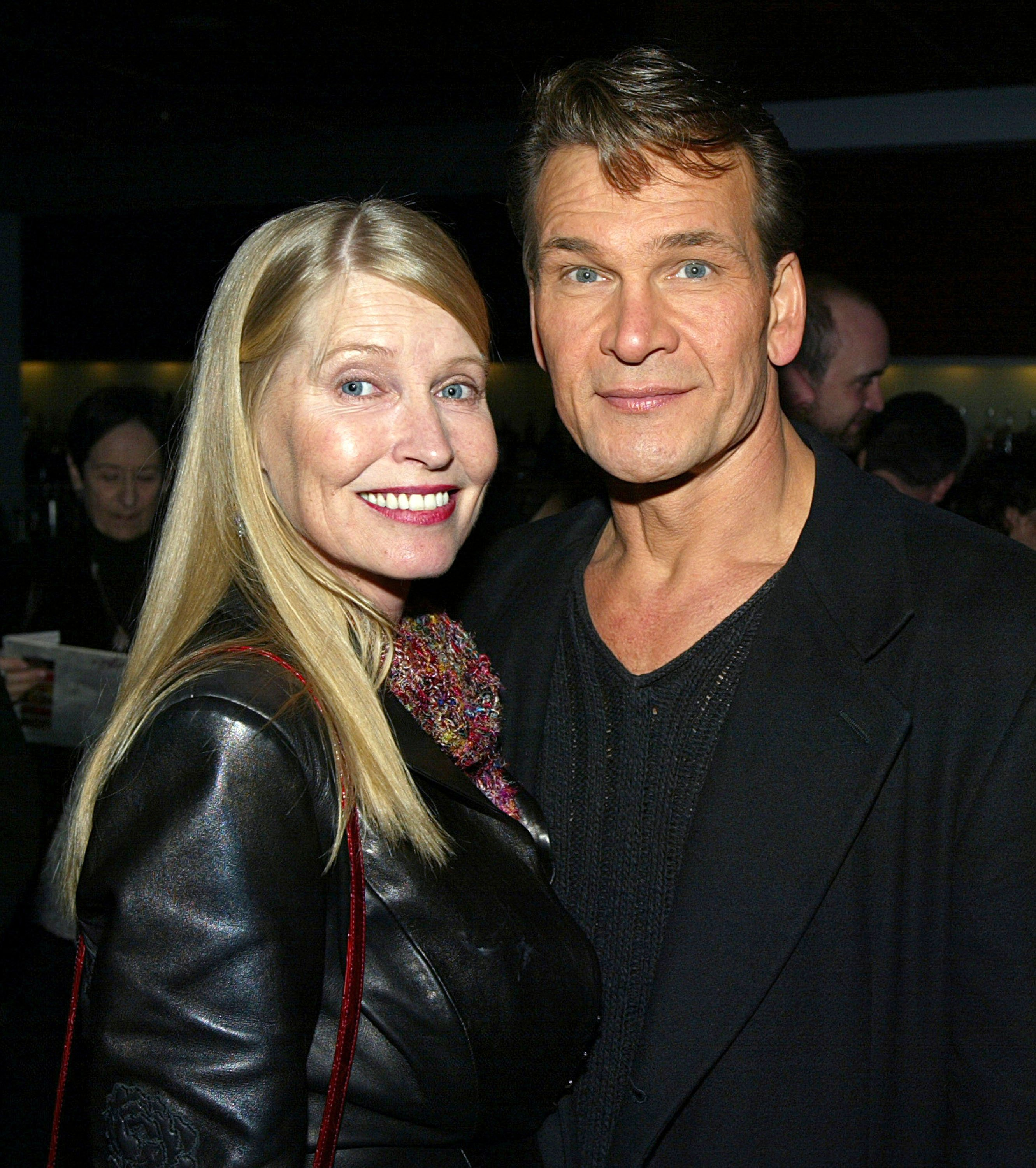 The late Patrick Swayze and his wife Lisa Niemi | Photo: Getty Images