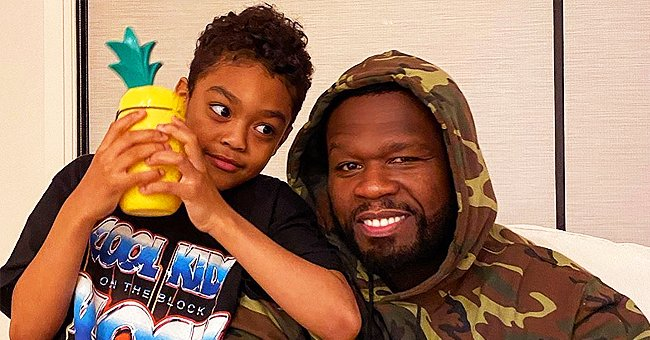 50 Cent's Son Sire Looks like His Dad's Copy in New Photos