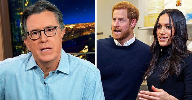 Jimmy Fallon & Stephen Colbert React to Prince Harry & Meghan's Interview with Oprah